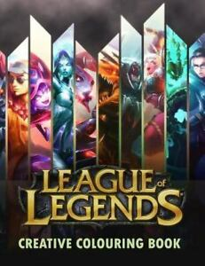 League of Legends Creative Colouring : LOL, LoL, Creative Colouring, Gamer,  Esports, Riot Games, Gaming, Gaming Books, League of Legends, Twitch,