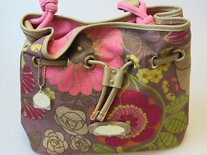 Image Is Loading Spartina 449 Daufuskie Island Handbag Linen Amp Leather