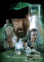 BREAKING BAD Heisenberg Walter White Wall Art Print Photo Poster A3 A4