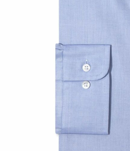 NWT $95 CLUB ROOM Men REGULAR-FIT BLUE LONG-SLEEVE BUTTON DRESS SHIRT 14.5 32//33