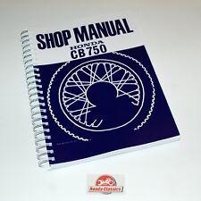 Honda Factory Workshop Shop Manual Book CB750 750/4 SOHC, Reproduction. HWM003