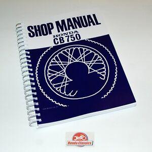 Honda factory workshop shop manual book cb750 7504 sohc image is loading honda factory workshop shop manual book cb750 750 publicscrutiny Gallery