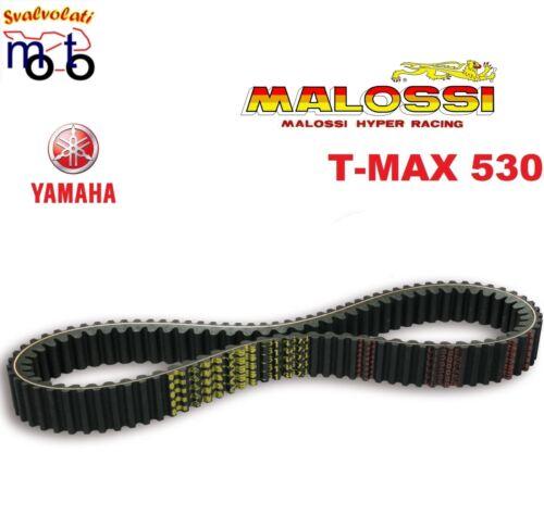J409E 6116011 CINGHIA MALOSSI X KEVLAR YAMAHA TMAX 530 ie 4T LC ANNO 2012