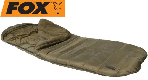 Fox Eos1 Schlafsack Sleeping Bag Sommer Schlafsack für Karpfenangler