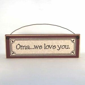 Oma-we-love-you-Mother-039-s-Day-gifts-signs-amp-plaques-Gift-Ideas-for-Mom