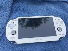 *BUNDLE* Sony PS Vita PCH-1001 White Portable Handheld Game Console + 8GB Card!