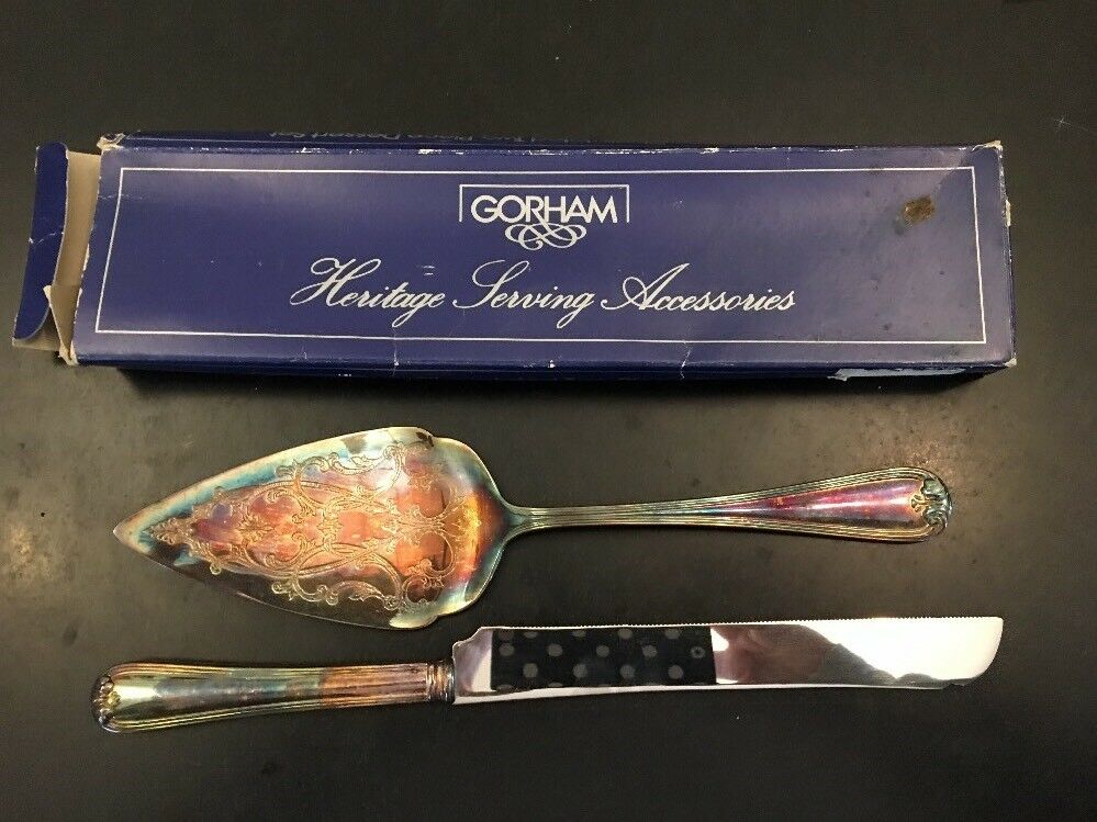 Corbell Silver Company Queen Anne 2 Piece Cake Pastry Server For Sale Online Ebay