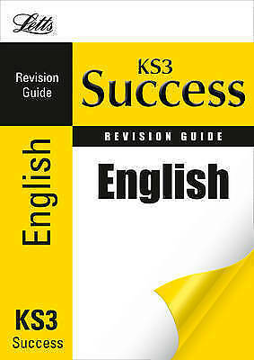 1 of 1 - Letts Key Stage 3 Success - English: Revision Guide, New, Jordan, Kath Book