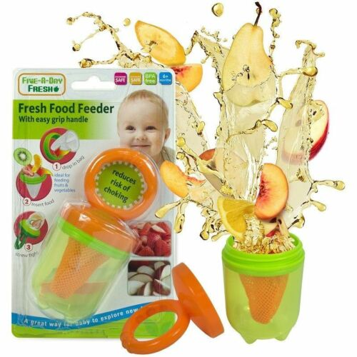 UK Seller, Baby Fresh Food Feeder With Easy Grip Handle Reduces Risk Of Choking