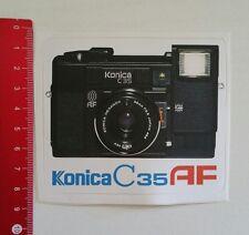 Aufkleber/Sticker: Konica C 35 AF Kamera / Camera (04011790)