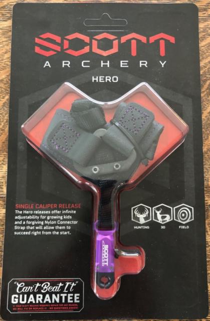 Scott Archery Fox Release Purple /& Black Women/'s Buckle Strap Small
