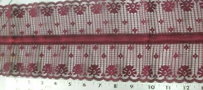 """3.25 Yd Jacquard Trim 2/"""" wide Woven Border Sew Embroidered Ribbon Lace T822"""