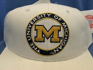 9118c2fa40e Image is loading University-of-MICHIGAN-Cap-Wolverines-College-Football-Hat-