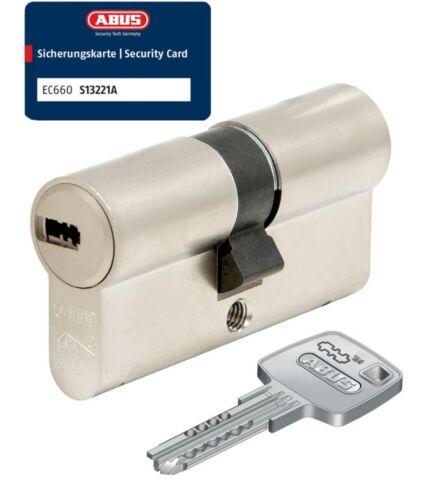 ABUS EC660 Doppelzylinder Schließzylinder 35//35mm mit 3 bis 10 Schlüssel SKG**