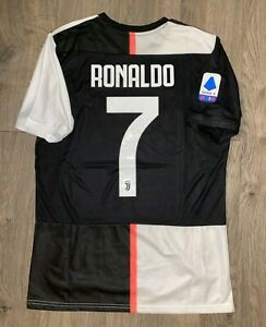 Juventus 2019 2020 Home Cristiano Ronaldo 7 Jersey Size M Ebay