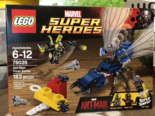 LEGO ® MARVEL SUPER HEROESFIGUR ANT-MAN AUS SET 76124NEU SH563