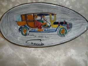 FABULOUS-DECORATIVE-SMALL-PORCELAIN-TRINKET-DISH-CACCIO-MADE-IN-ITALY