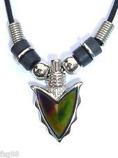 NEW Arrowhead Mood Necklace Color Change Arrow Head Pendant Necklace