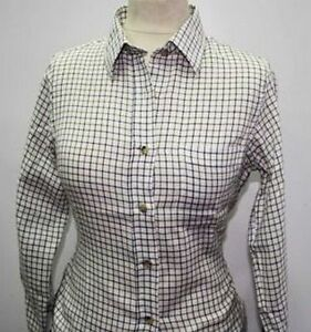 Country-Classic-Womens-Check-Shirts-Tattersal-Check-Long-Sleeve-RRP-40