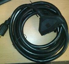 Generac Generator Power Cord 25Ft 10 Gauge L14-30P plug 30-Amp 125/250V 4 Outlet