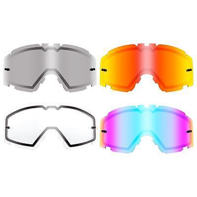 Affidabile Oneal Vetro Di Ricambio Vetro Doppio B30 Goggle Moto Cross Mx Dh Downhill Occhiali-mostra Il Titolo Originale