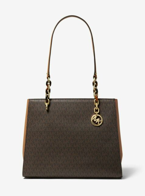Michael Kors Sofia Saffiano Leather Women's Bag Brown