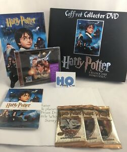 Coffret-collector-DVD-Harry-Potter-A-l-039-ecole-des-sorciers-Complet