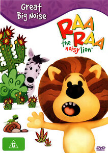 Raa-Raa-The-Noisy-Lion-Great-Big-Noise-NEW-DVD-children-tv-series