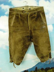Antichi e 1a di 54 lh016 daino Säcklerarbeit pantaloni cervo di pelle di pelle grossa Gr rqXrw4H