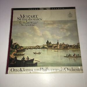 Mozart-Symphony No.38 In D Prague No. 39 in E flat Otto Klemperer vinyl lp 36129