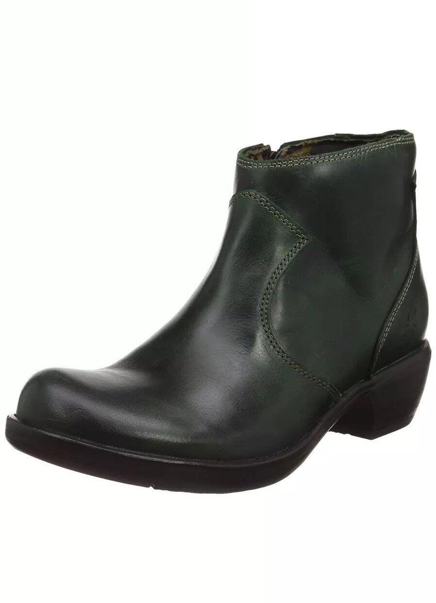 Fly London Women's Maia171fly Boots  Green UK 3 EU 36 (P144171002)