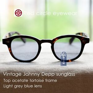 c47e688768b Image is loading Vintage-sunglasses-Johnny-Depp-eyeglass-mens-tortoise-frame -