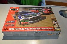 Airfix A03414 Mini Countryman WRC Plastic Kit 1//32 Scale Free Tracked 48 Post