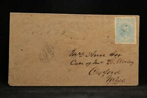Confederate: Tennessee, Tyner CSA #2 (4 margins) Cover, Light Town Ms Upper Left