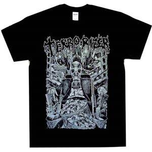 Terrorizer-Gas-Mask-Shirt-S-M-L-XL-XXL-T-Shirt-Death-Metal-Official-Tshirt-New