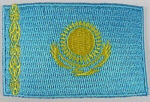 Kasastan-Aufnaeher-gestickt-Flagge-Fahne-Patch-Aufbuegler-6-5cm-neu