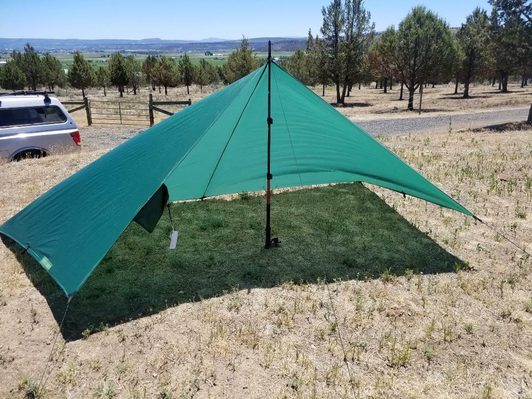 Ul excursionista-Ultra Ligero 6 X 9 Edición Limitada refugio Follaje verde