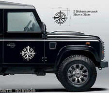 Compass Navigation STICKERS DECAL GRAPHICS DEFENDER DISCOVERY RANGE ROVER