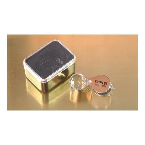 Expo 10x Jewellers Loupe 17mm Triplet Magnifier 73828