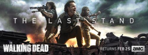 "The Walking Dead Poster Season 8 Last Stand Banner Art Print 24×9/"" 48×18/"" 72×27/"""