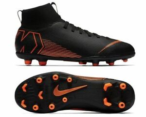Nike Superfly 6 Club MG AH7363-081 Black Turf Men s Soccer Cleats ... b311ae493ac