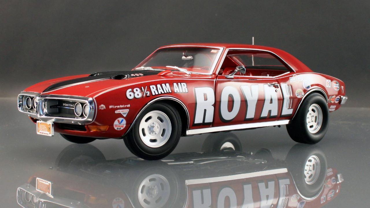 Acme A1805202 Ace WILSON 1968 1 2 Royale Pontiac Firebird Faites Glisser Voiture