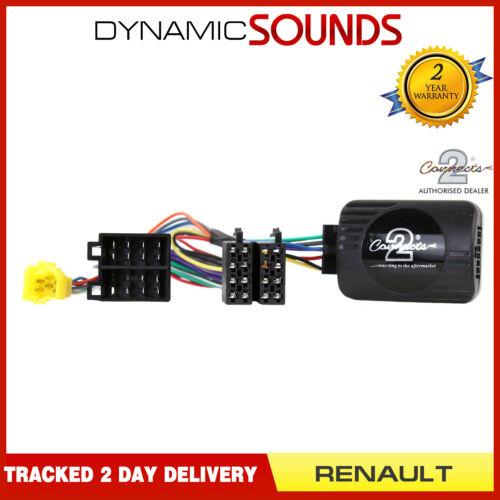 CTSRN004 Sony Stereo Steering Stalk Adaptor For RENAULT Clio Megane Kangoo
