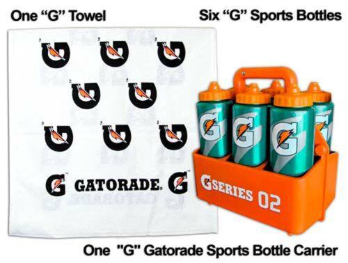 Coach/'s Gatorade /'G/' Sports Pack = 6 G Bottles 1 Free Gatorade G Tow 1 Carrier