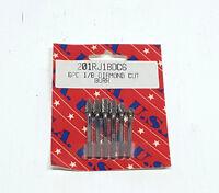 T&e Tools 6 Pc.1/8 Diamond Cut Bur Set