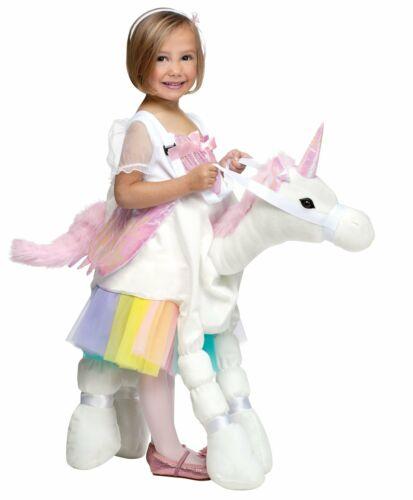 CK652 Ride on a Unicorn Horse Dragon Girls Boys Book Week Fancy Dress Up Costume