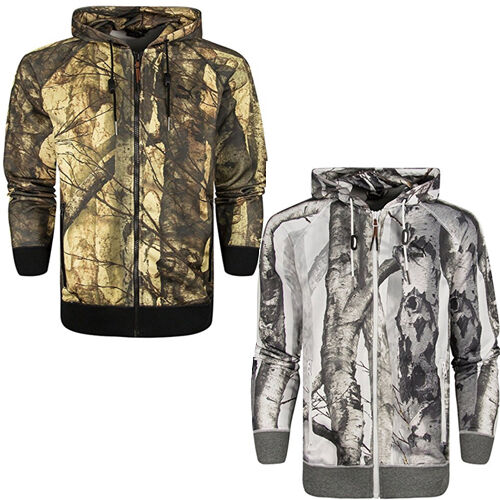 Puma Photo Real Camo Print Mens Hooded Zip Hoody Track Jacket 566653 CC23 CC29