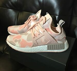 23a521cfd Adidas NMD XR1 Boost Women s Pink Duck Camo Sneakers Running Shoe 9 ...