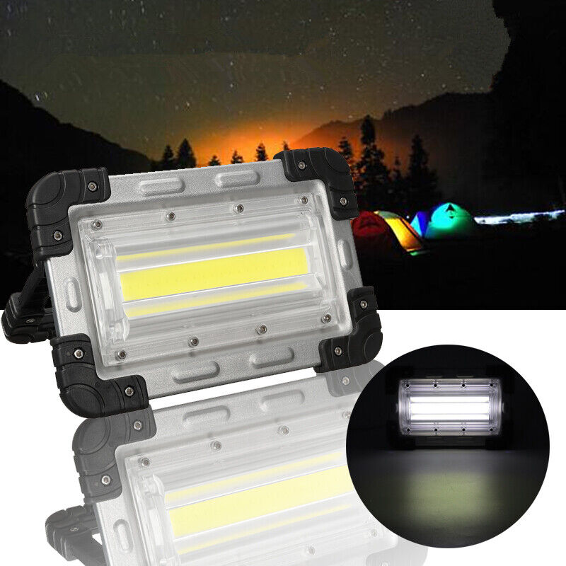 30w COB Rechargeable Handle Tent coloured Lamp Outdoor Camping Hiking   retail stores