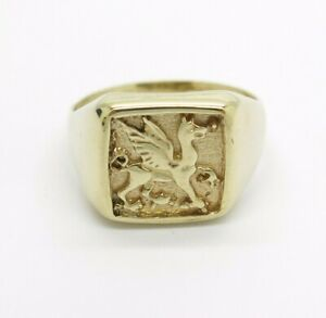 9ct-Gents-Dragon-Ring